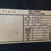 MIELE HM 29-165 LAM (2002)