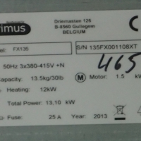 PRIMUS FX 135 (2013)